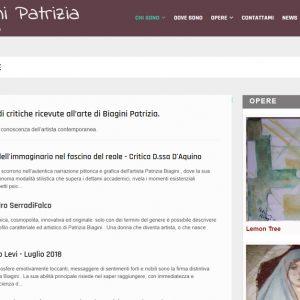 Patrizia Biagini - Il sito della pittrice è online - Critiche
