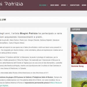 Patrizia Biagini - Il sito della pittrice è online - Curriculum