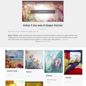 Patrizia Biagini - Il sito della pittrice è online - Homepage