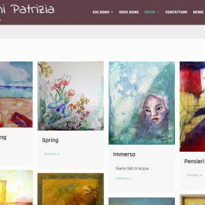 Patrizia Biagini - Il sito della pittrice è online - Opere