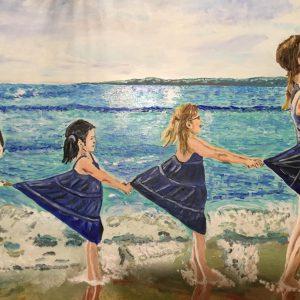 Coefficiente artistico - Capricci, 70x60 cm, olio su tela