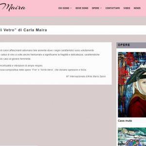 Il sito d'arte di Carla Maira - Critica
