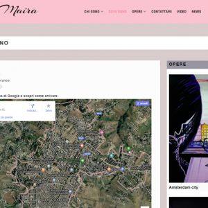Il sito d'arte di Carla Maira - Dove sono