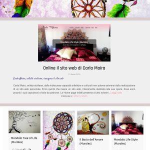 Il sito d'arte di Carla Maira - Homepage