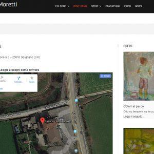 Sito d'arte di Carolina Moretti - Dove sono