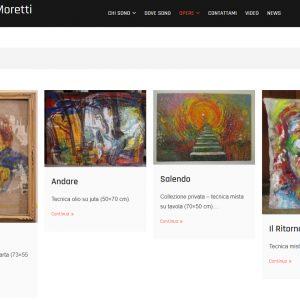 Sito d'arte di Carolina Moretti - Galleria