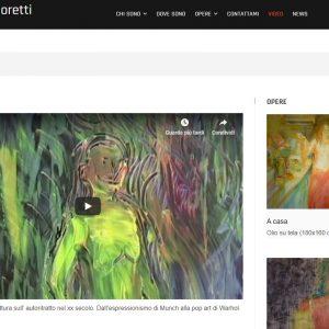 Sito d'arte di Carolina Moretti - Video