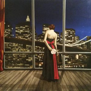 Fascino metropolitano - 180x140cm - Olio su tela