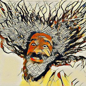 Fulminato - Arte Digitale 40x30cm