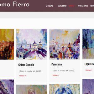 Sito del pittore Giacomo Fierro - Opere