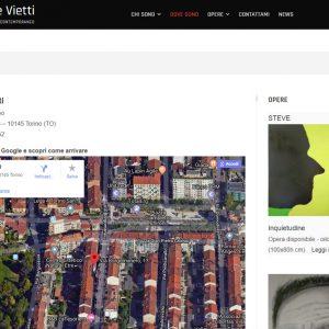 Nuovo sito dell'artista Giuseppe Vietti - Dove Sono