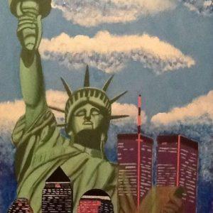Libertà, 120x80 cm, acrilico