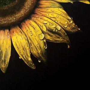 Luminosa follia - 50x60cm - Olio su cartoncino telato