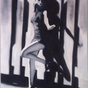 Marie - Olio su tela - 40x50px