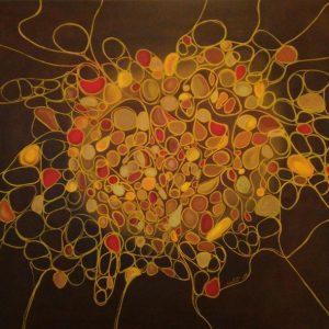 Melagrana - Olio su tela - 150x100cm