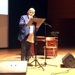 """""""Lectura Dantis"""" di Moni Ovadia al Premio Arte Milano"""