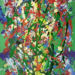 Gli artisti si raccontano - L'intervista a Gino Vercelli - Mother nature. 2021 - Acrilico su cartone - 50x70cm