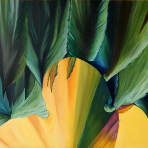 Promozione artisti online: Natura in riscatto - Olio su tela - 70x50cm di Carla Thaler Sabaini, in arte Scarlat