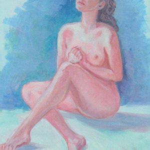 Nudo femminile - 40x50cm - Olio su tela