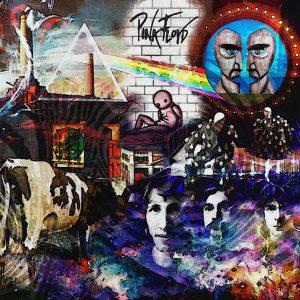 Pink Floyd-Album - Arte Digitale - 70x50cm