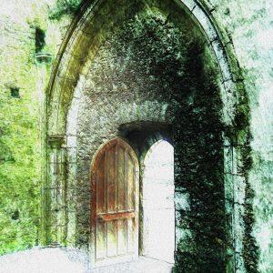 Rocca di Cashel - porta - Arte Digitale * 30x40 cm.