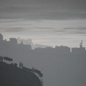 Sentiero degli Dei - Acrilico su tela - 100x80cm