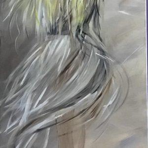 Senzatitolo - acrilico su tela - 50x150cm