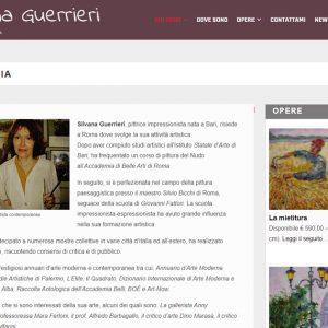 Il sito d'artista di Silvana Guerrieri - Biografia