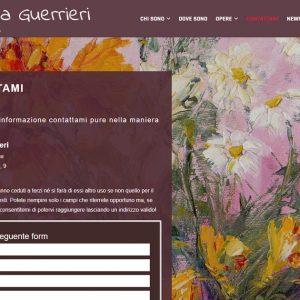 Il sito d'artista di Silvana Guerrieri - Contatti