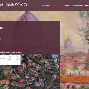 Il sito d'artista di Silvana Guerrieri - Dove sono