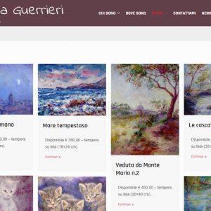 Il sito d'artista di Silvana Guerrieri - Opere