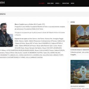 Il sito d'arte personale di Marco Creatini - Biografia