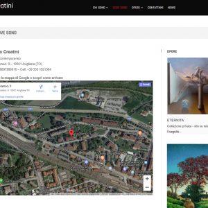 Il sito d'arte personale di Marco Creatini - Dove sono