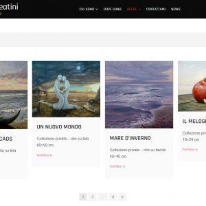 Il sito d'arte personale di Marco Creatini - Opere