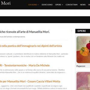 Il sito d'arte personale di Manuelita Mori - Critiche