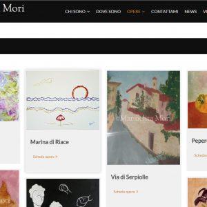 Il sito d'arte personale di Manuelita Mori - Opere