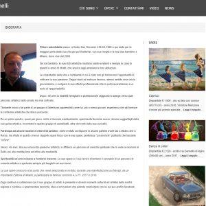 Il sito web d'artista di Pasquale Iannelli - Biografia