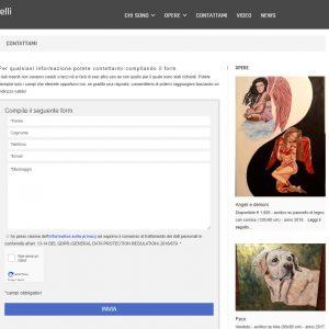 Il sito web d'artista di Pasquale Iannelli - Contatti
