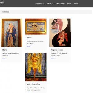 Il sito web d'artista di Pasquale Iannelli - Opere