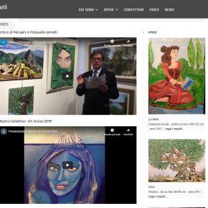 Il sito web d'artista di Pasquale Iannelli - Video