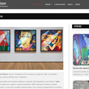 Il sitoweb del pittore Roberto Russo - Biografia