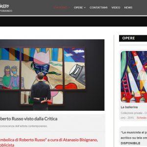 Il sitoweb del pittore Roberto Russo - Critiche