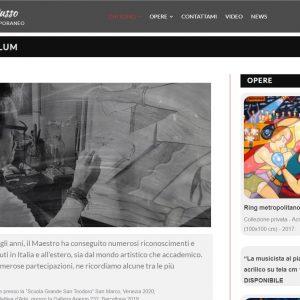 Il sitoweb del pittore Roberto Russo - Curriculum