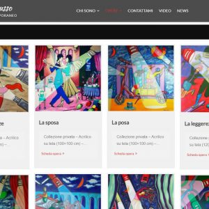 Il sitoweb del pittore Roberto Russo - Opere