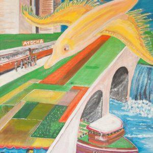 Sogno di libertà, 50x70cm, olio su tela