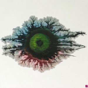 The eye #1 - Acrilico su tela - 50x50cm