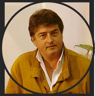 L'artista e critico d'arte Mario Salvo, uno dei tutor di PitturiAmo