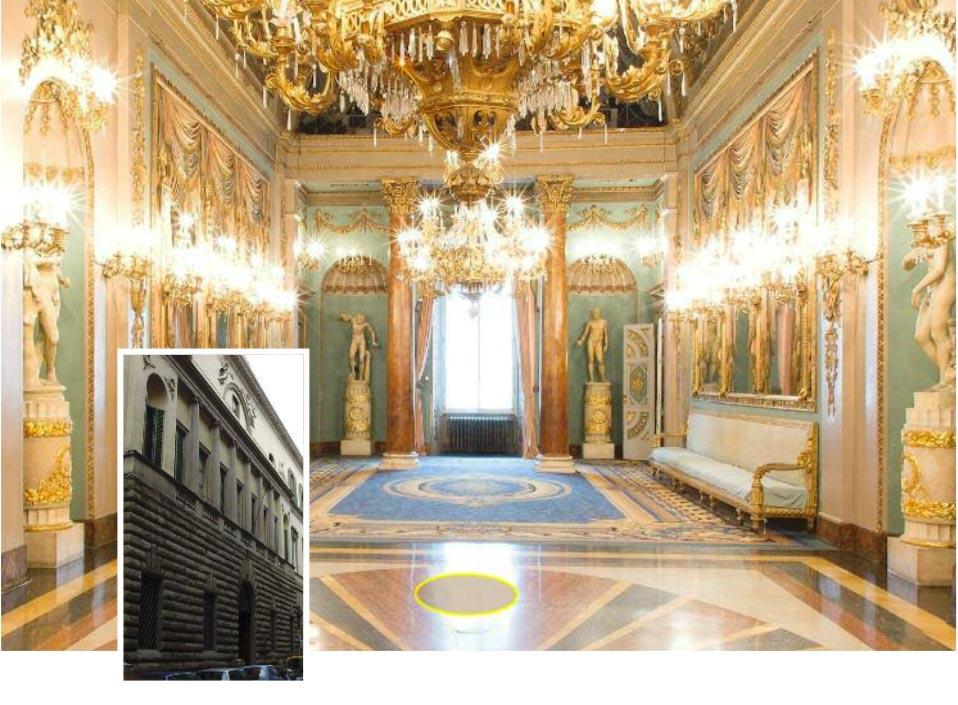 palazzo borghese Firenze