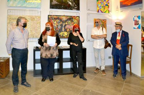 Area Contesa Arte - Esposizione a Roma - PitturiAmo in Via Margutta