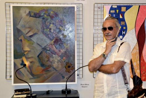 La grande collettiva di PitturiAmo - Esposizione a Roma di Mario Alberto Agugiaro